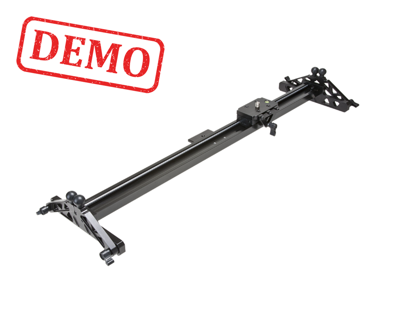 DEMO - F&V DSLR / CAMCORDER TRACK DOLLY SLIDER S80 with ROLLER BEARING