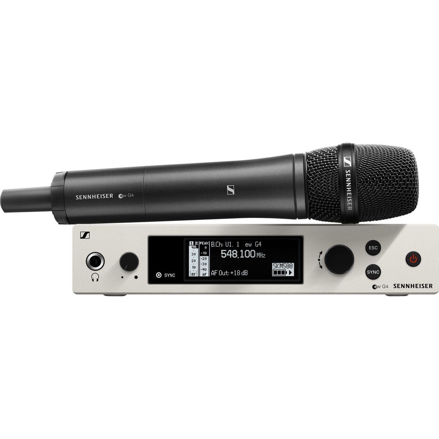 Sennheiser EW 500 G4-935 Wireless Handheld Microphone System with MMD 935 Capsule