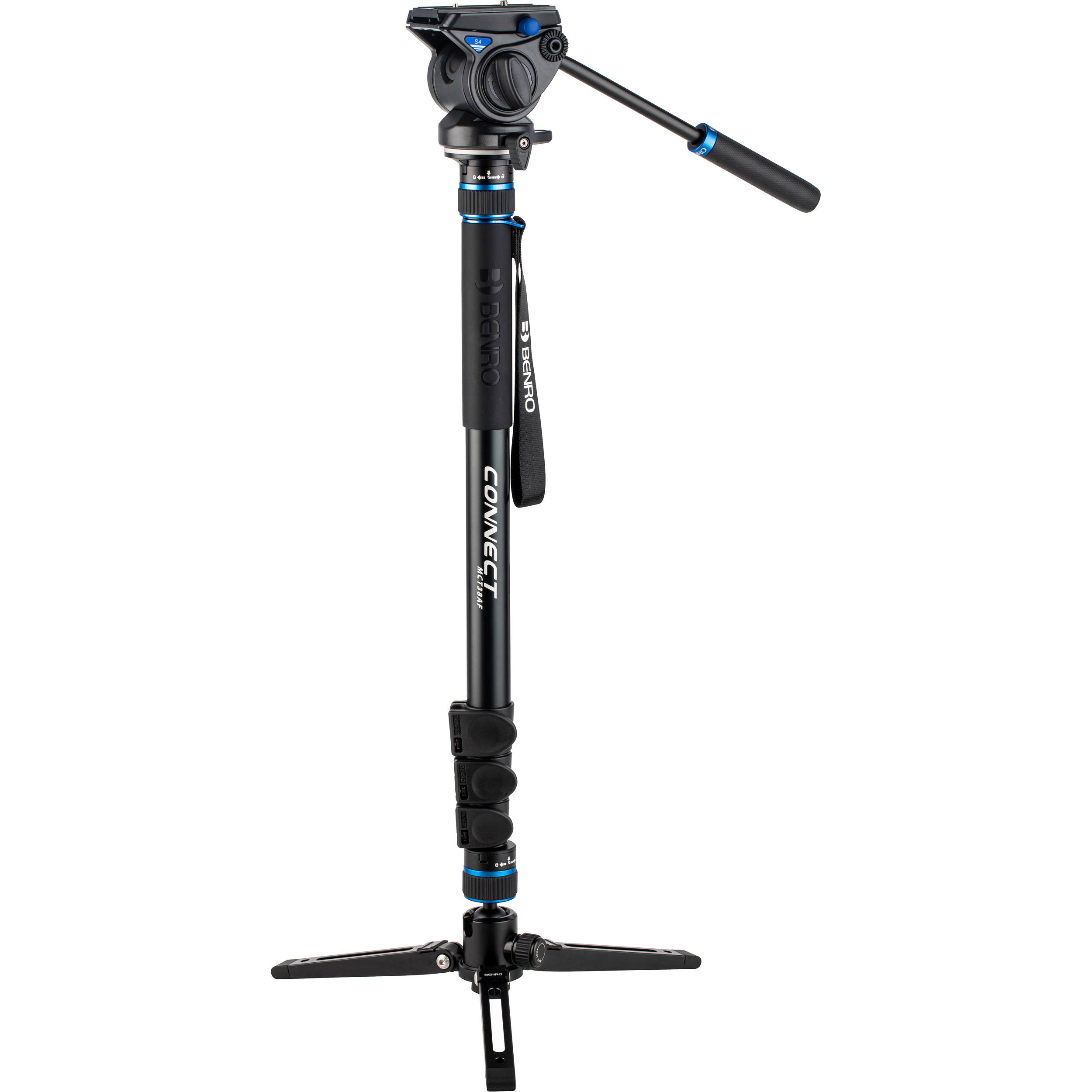 BENRO Connect S4 PRO Video Monopod Kit MCT38AFS4