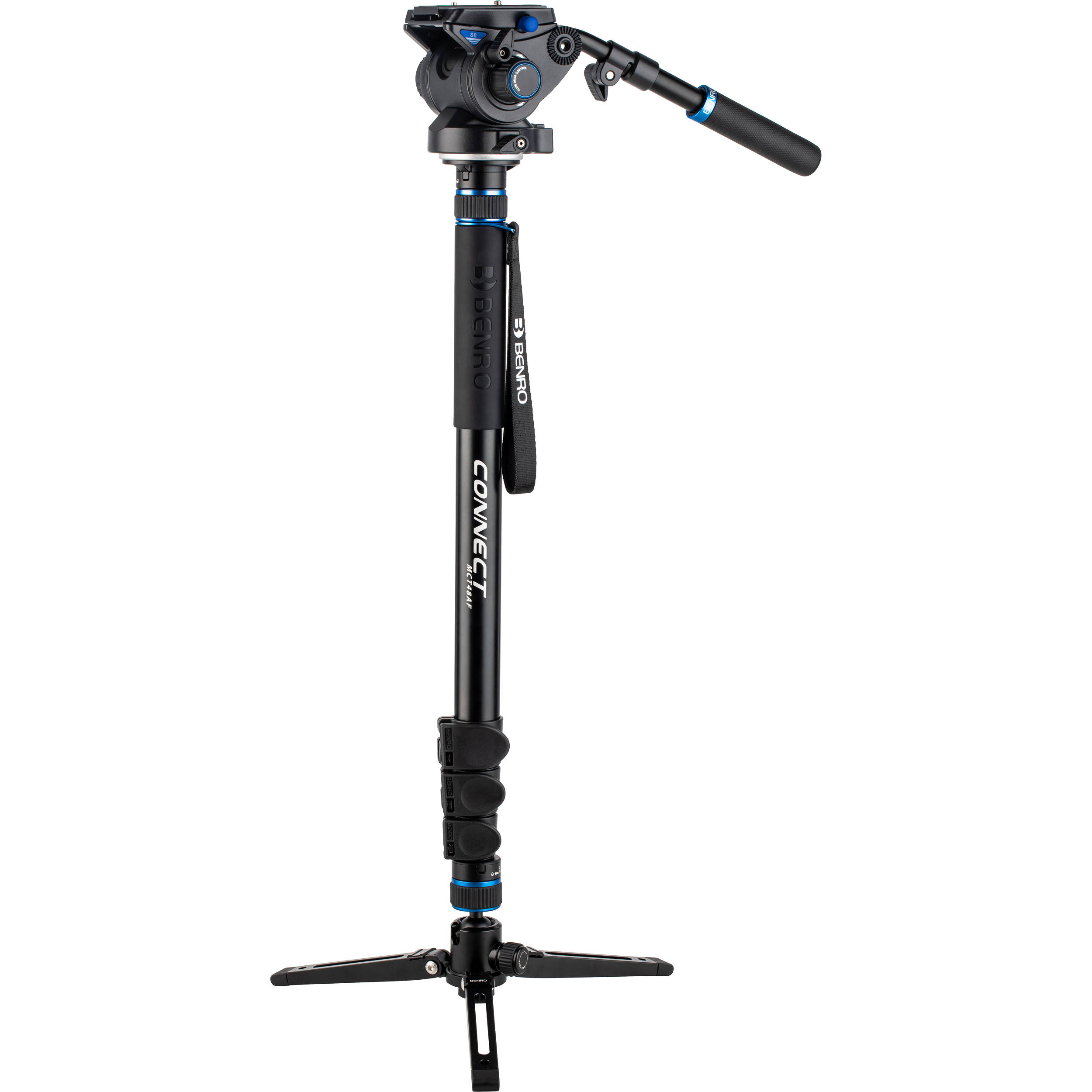 BENRO Connect S6 PRO Video Monopod Kit MCT48AFS6PRO