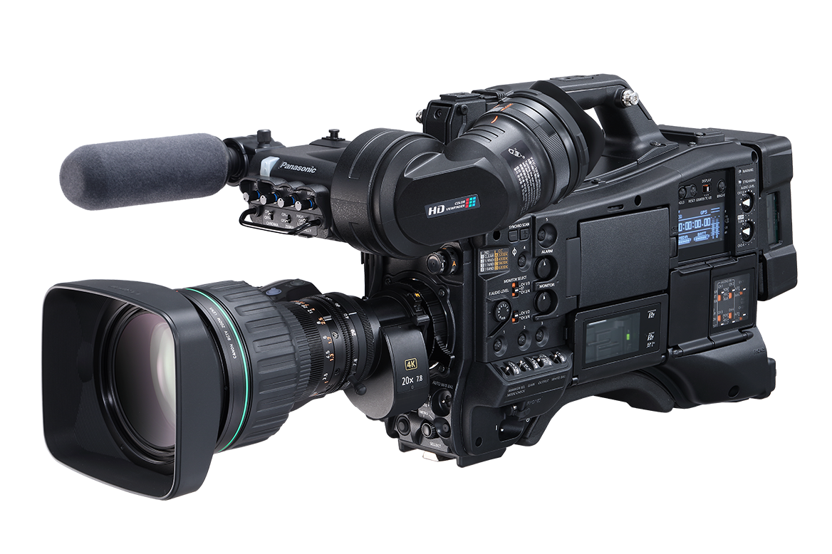 Panasonic AJ-CX4000 4K HDR ENG Shoulder-Mount Camera