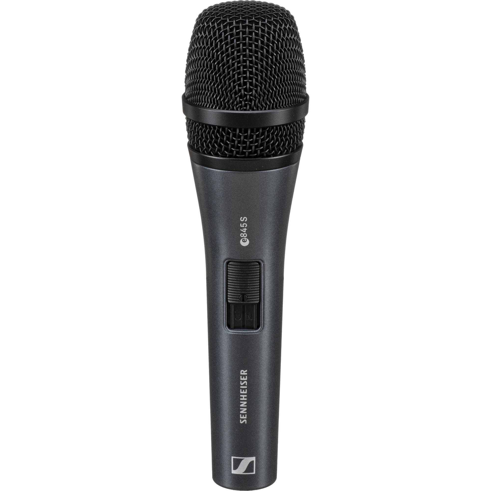 Sennheiser e845-S - Supercardioid Handheld Dynamic Microphone with Switch