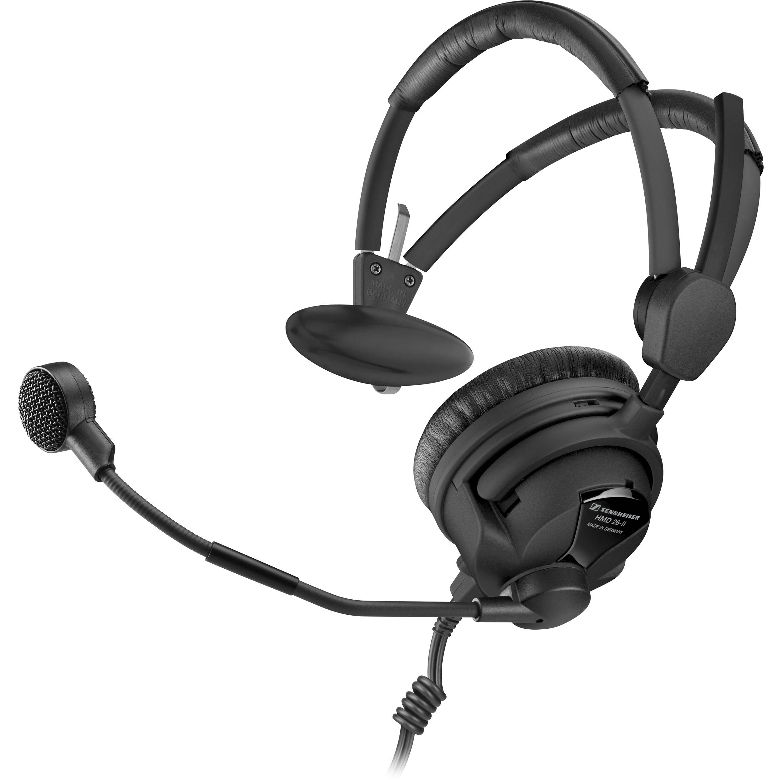 Sennheiser HMD 26-II-600-S Professional Broadcast Headset with Dynamic Microphone (No Cable)