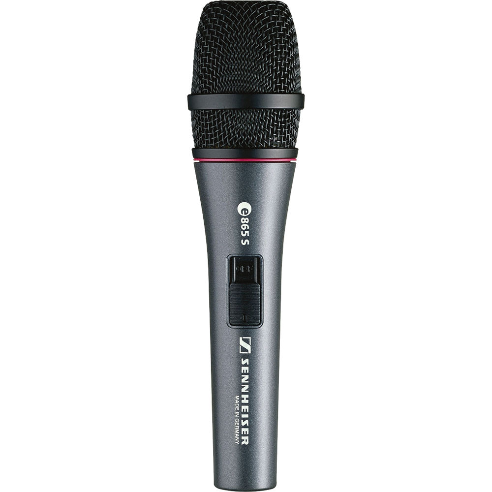 Sennheiser e 865-S Handheld Supercardioid Condenser Microphone with On/Off Switch