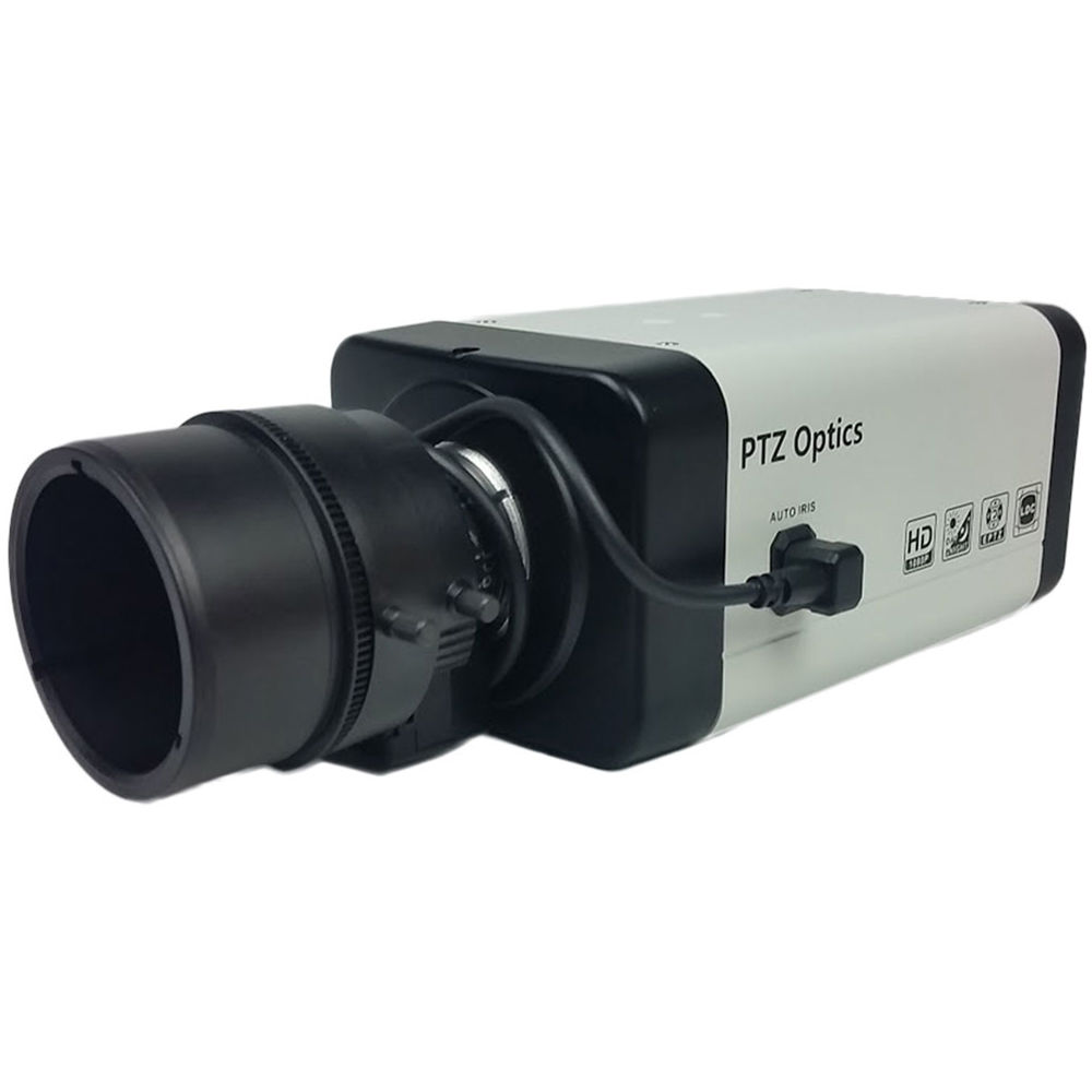 PTZOptics ZCam-VL 3G-SDI Box Camera with 4x Zoom Lens