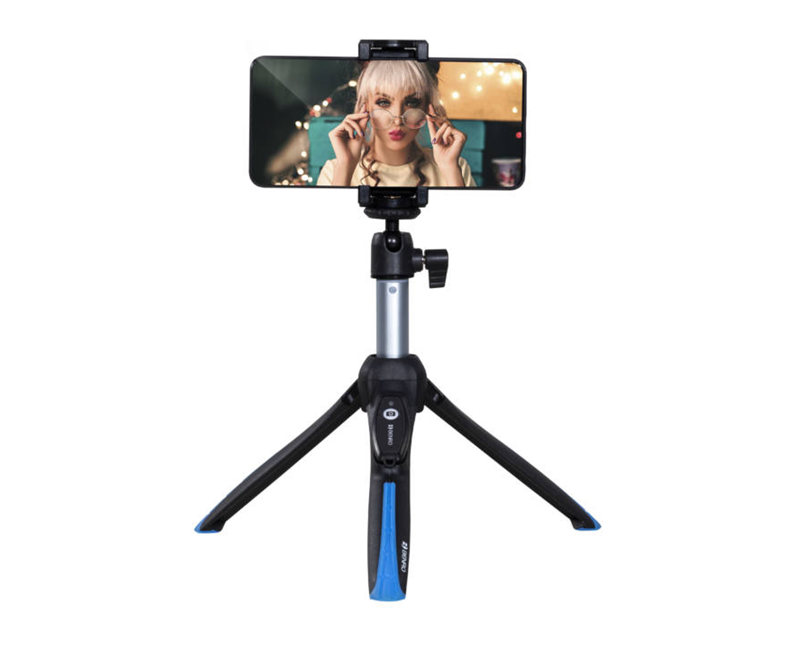 Benro BK15 Mini Tripod and Selfie Stick with Bluetooth Remote