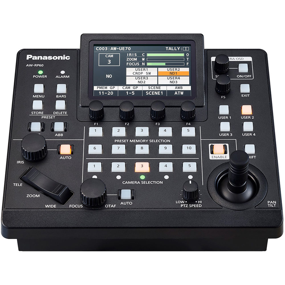 Panasonic AW-RP60 Remote Camera Controller
