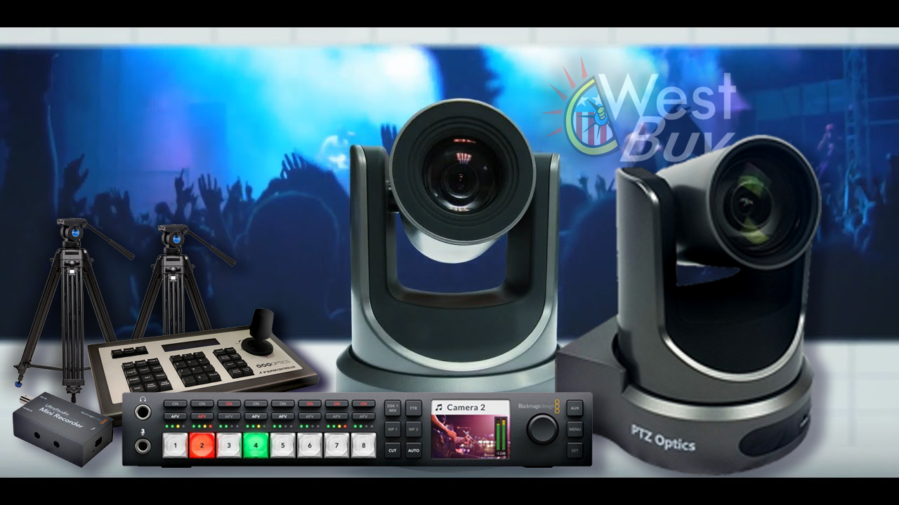 PTZOptics Streaming KIT-  Studio Televiziune ONLINE