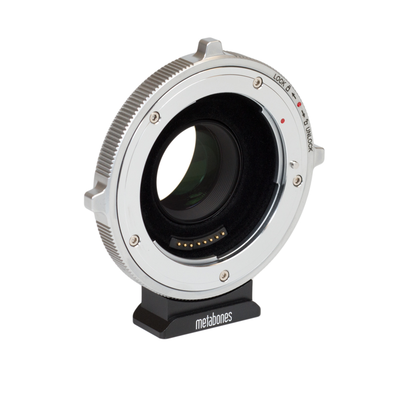 Metabones Canon EF to BMPCC4K T CINE Speed Booster XL 0.64x MB_SPEF-m43-BTB