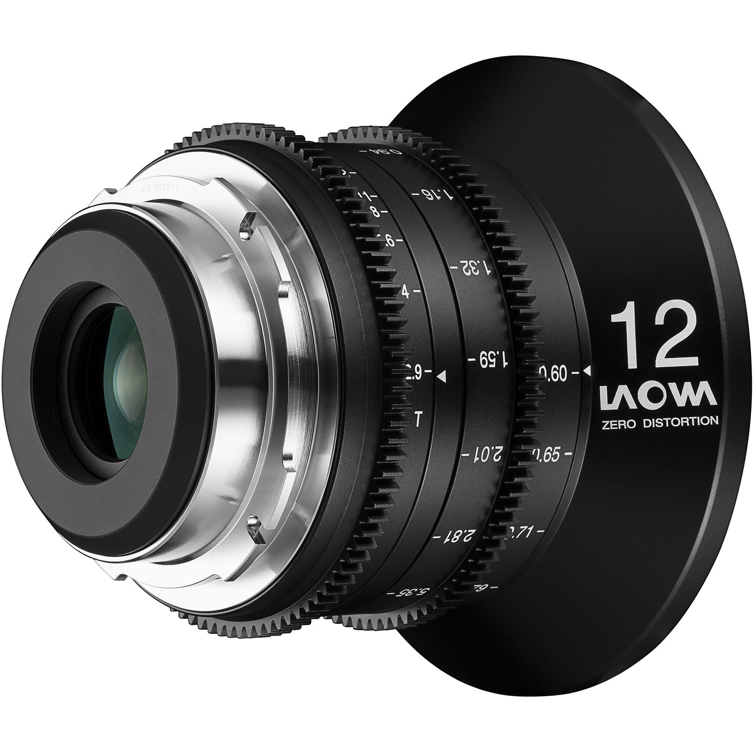 Venus Optics Laowa 12mm T2.9 Zero-D Cine Lens (PL Mount)