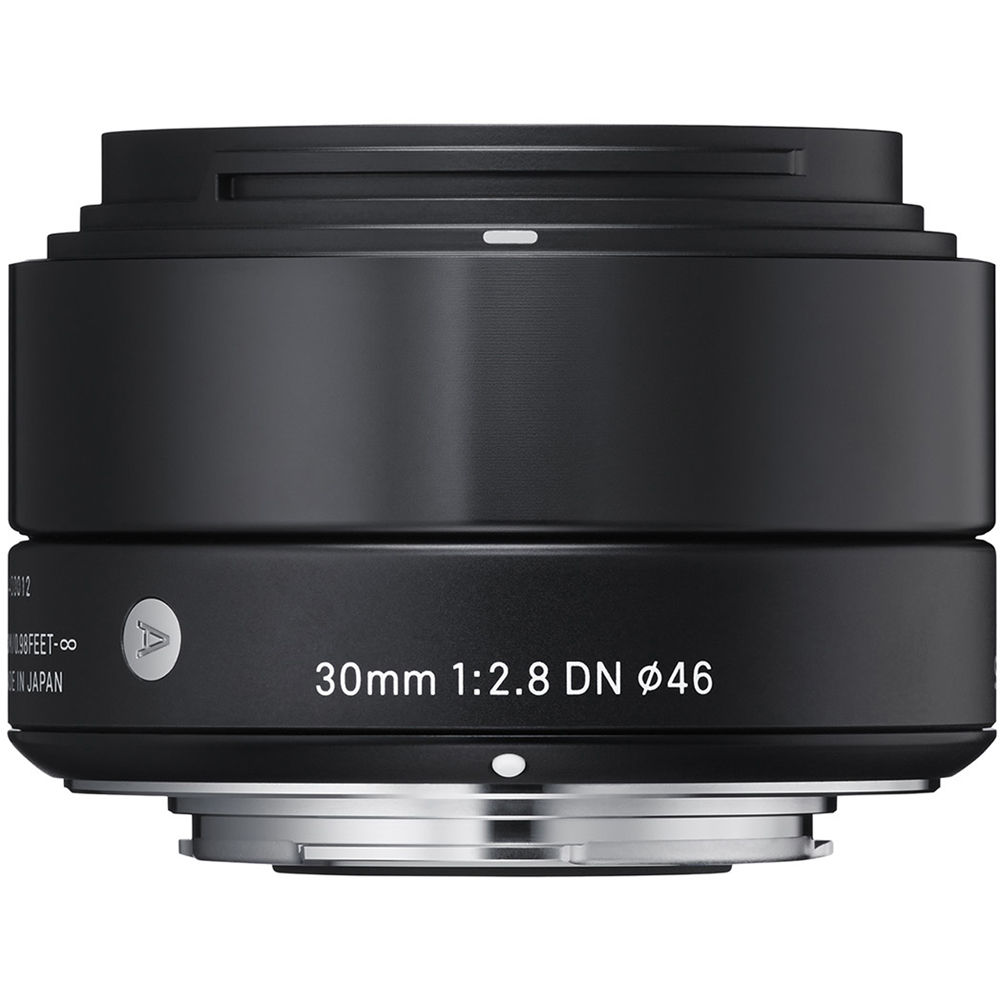 Sigma 30mm f/2.8 DN ART Lens for Micro Four Thirds (Black)