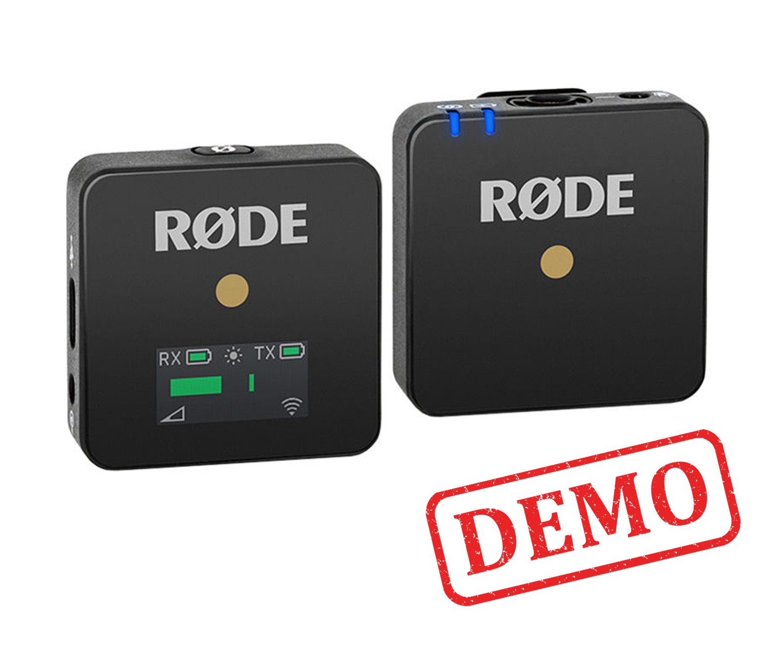 DEMO - Rode Wireless GO Compact Wireless Microphone System (2.4 GHz)
