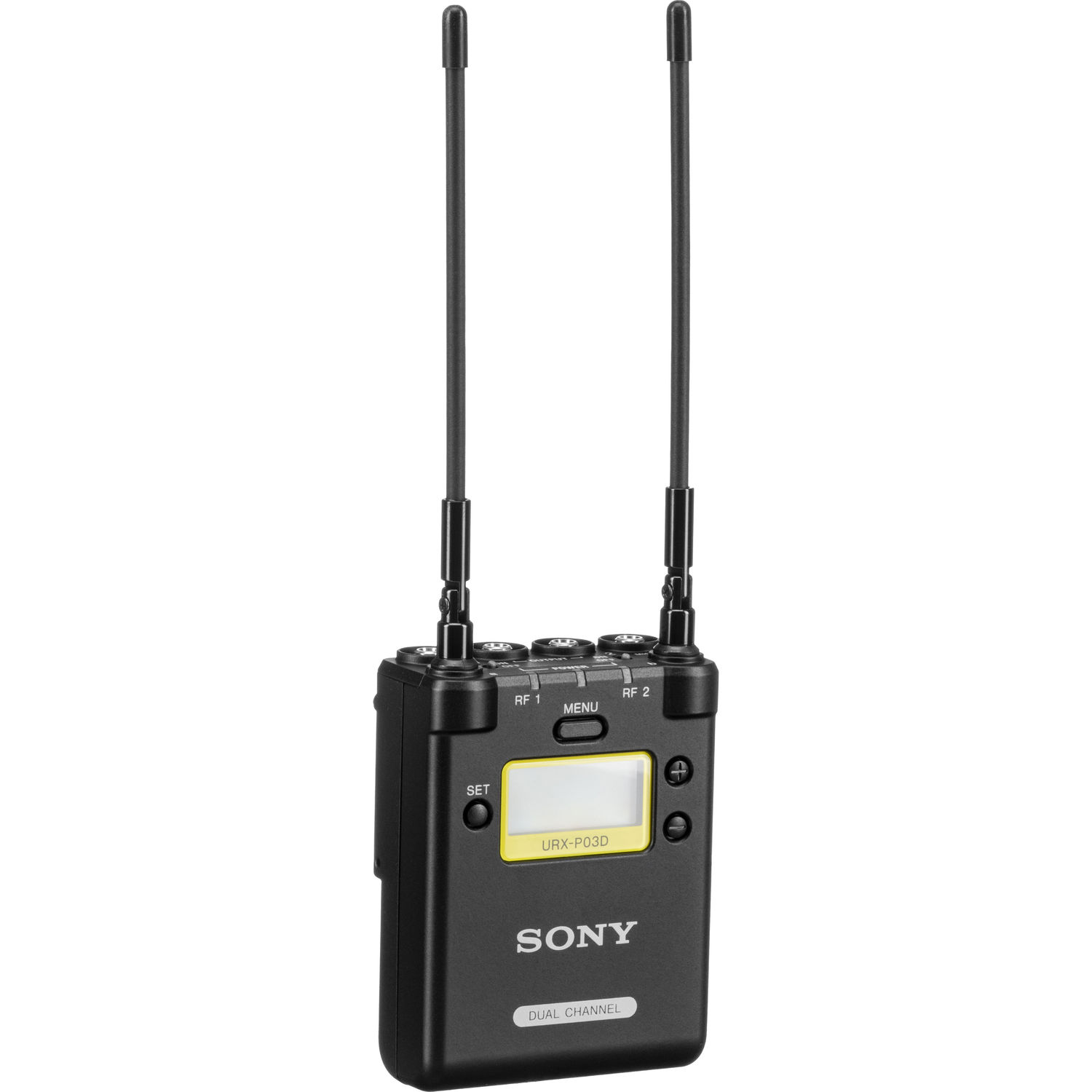 Sony URX-P03D Dual-Channel Camera-Mount Wireless Receiver