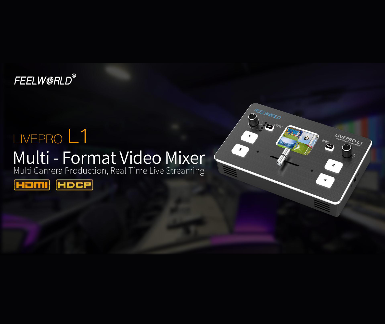FeelWorld LIVEPRO L1 (RGBlink mini) Multi-format Video Mixer/Switcher