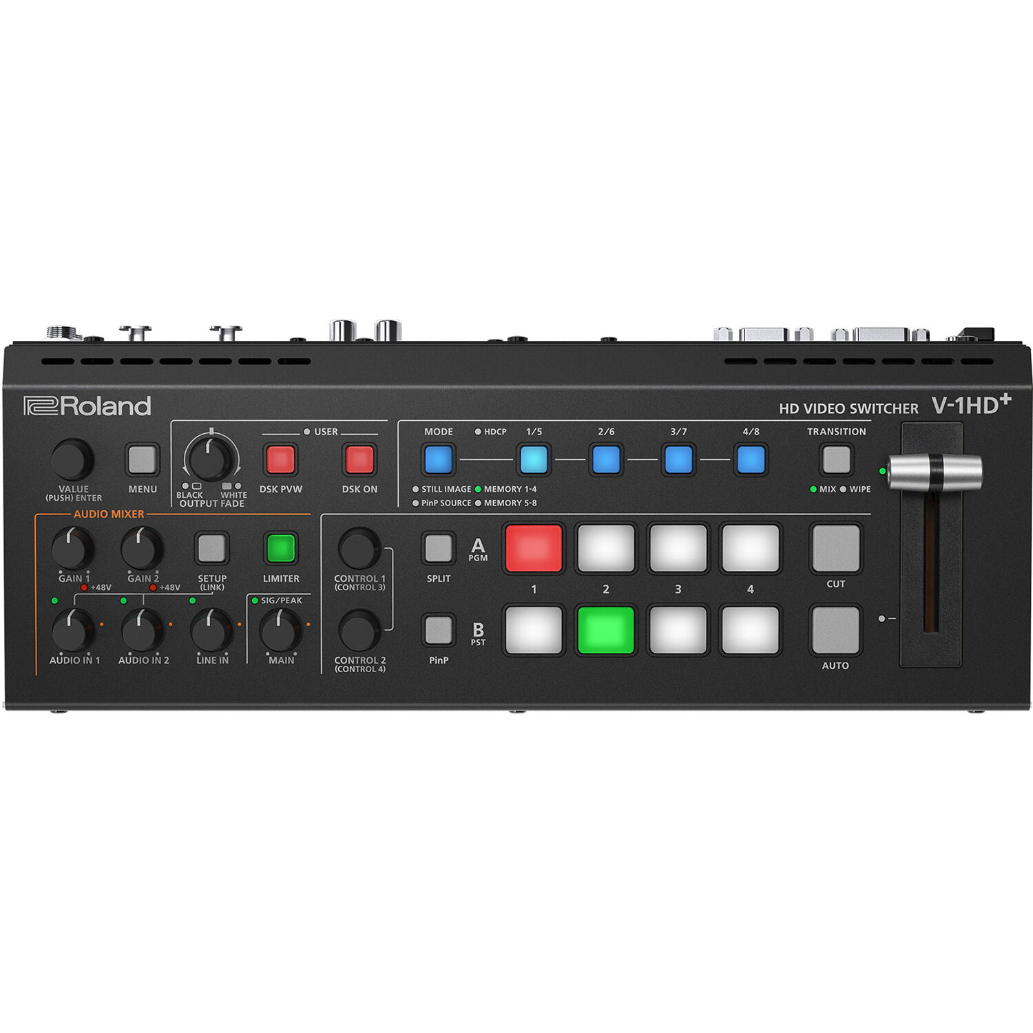 Roland V-1HD+ Compact 4 x HDMI Video Switcher LIVE STREAM