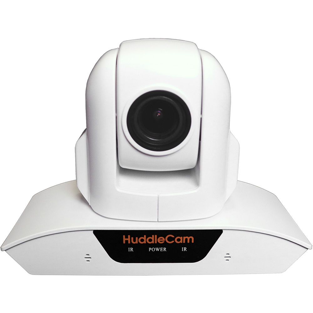 HuddleCamHD 3XA USB 2.0 PTZ Conferencing Camera (Black / White)