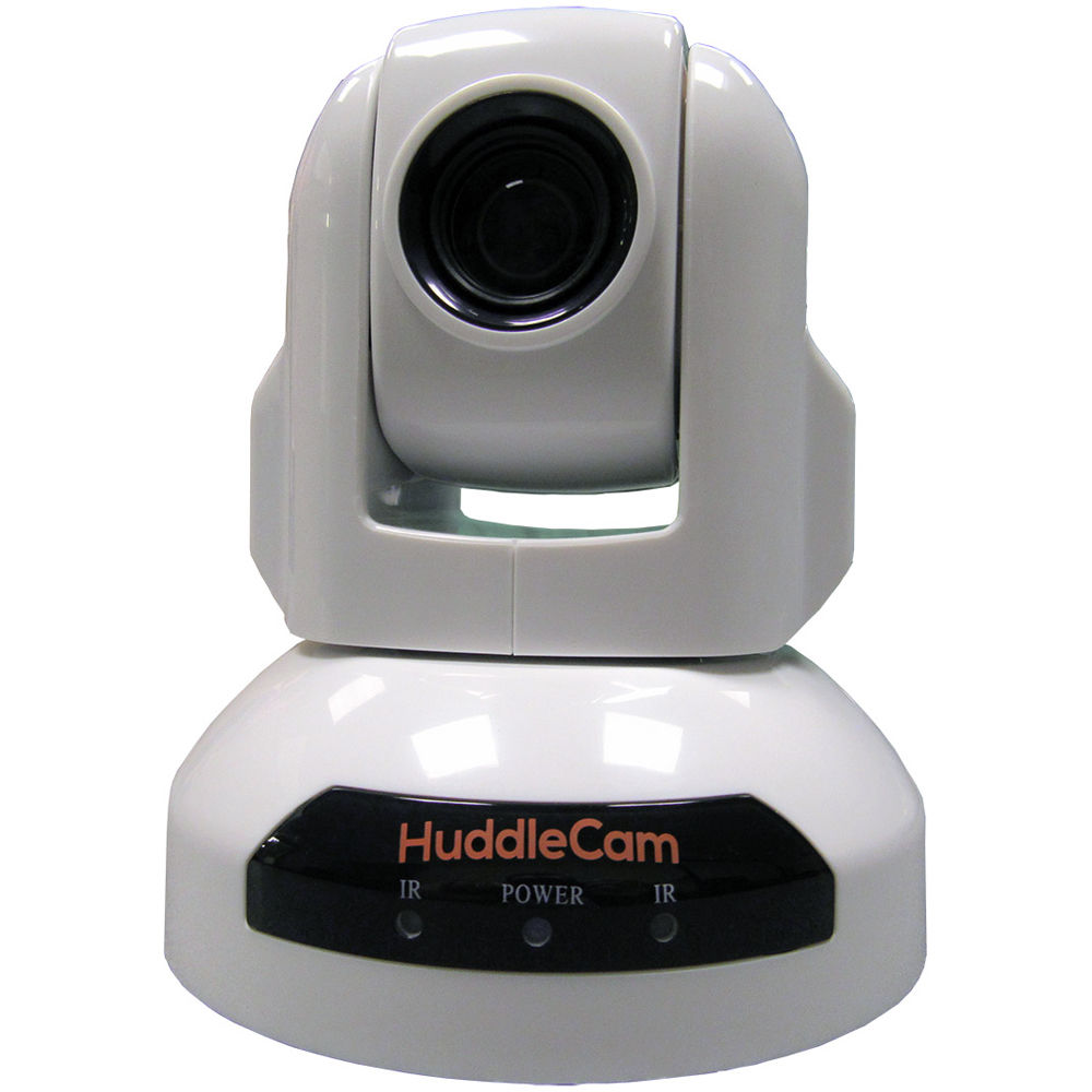 HuddleCamHD 10X-USB2 Conferencing Camera (Black / White)