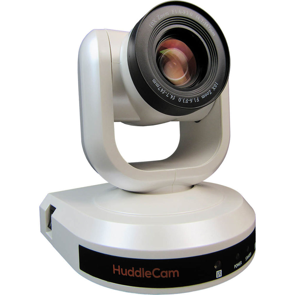 HuddleCamHD 10X-G3 - USB 3.0 Class Conference Camera (Gray / White)