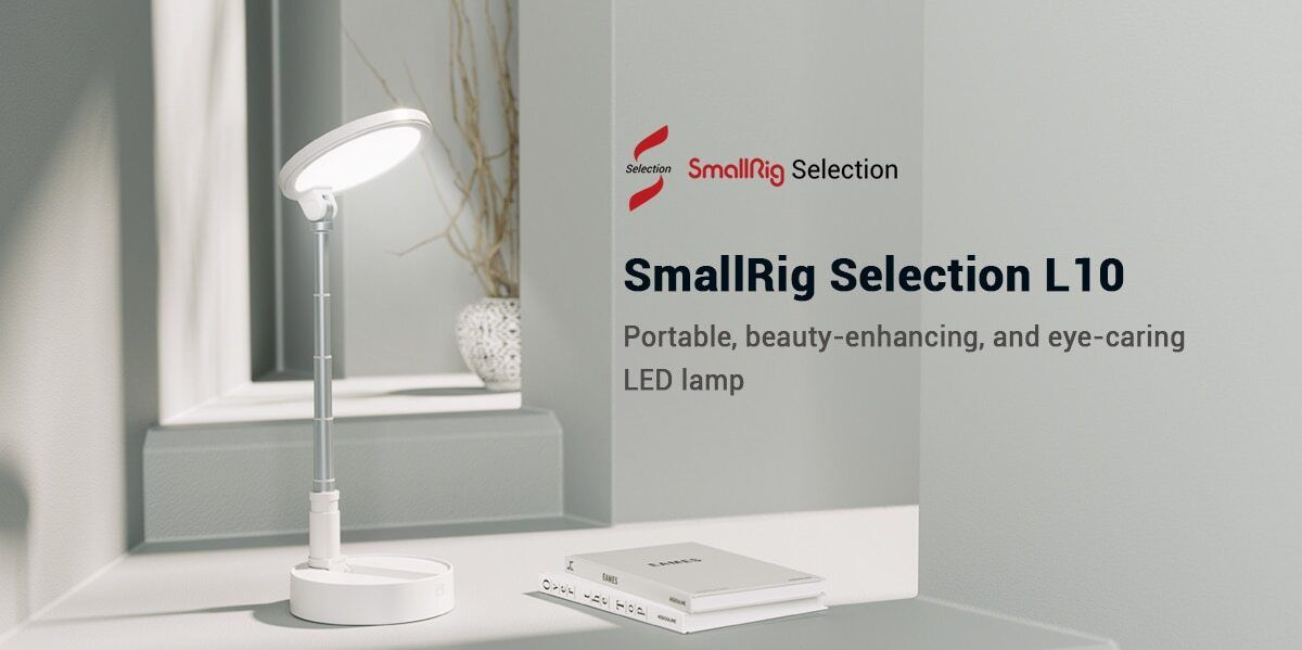 SmallRig Selection L10 Bi-Color Portable LED Lamp 3242