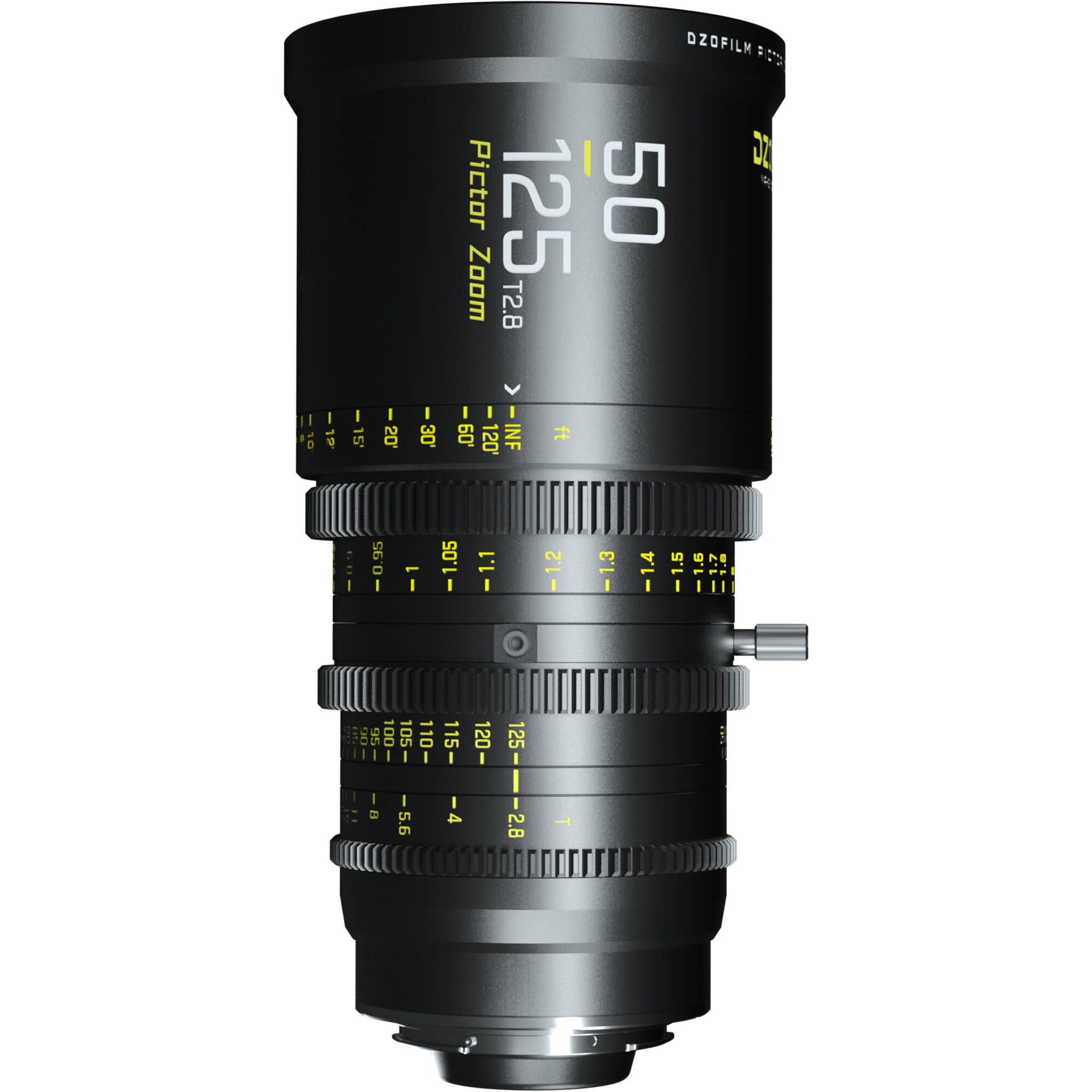 DZOFilm Pictor 50-125mm T2.8 Super35 Parfocal Zoom Lens (PL / EF Mount)