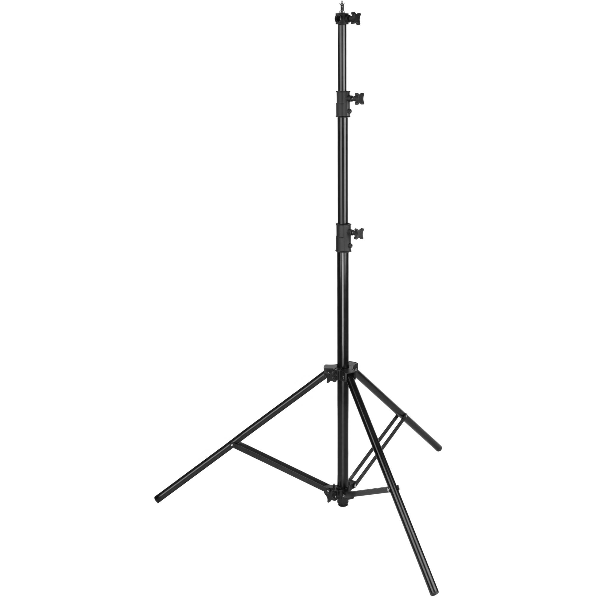 IMPACT AIR CUSHIONED (Pneumatic) HEAVY DUTY LIGHT STAND 2.9 M (LS-96HAB)