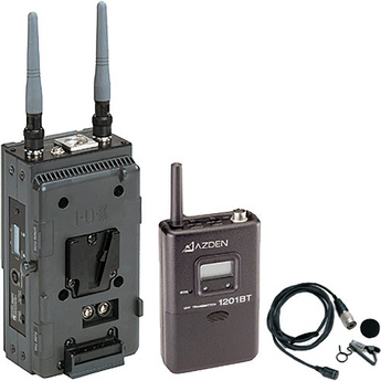 Azden 1201VMS (1201 VMS) Broadcast Professional UHF Wireless Body Pack System