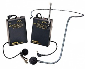 AZDEN WLX-PRO/I (WLX PRO I) VHF Wireless Lavalier & Headset Microphone combination System